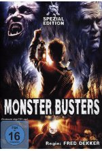 Monster Busters - Remastered Uncut Edition  [SE] DVD-Cover