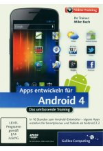 Apps entwickeln für Android 4 (PC+MAC+Linux) Cover
