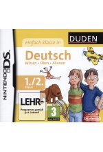 DUDEN Einfach Klasse in Deutsch 1./2. Klasse Cover