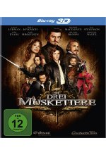 Die Drei Musketiere Blu-ray 3D-Cover