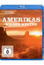 Amerikas wilder Westen - National Geographic Blu-ray-Cover