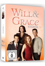 Will & Grace - Staffel 5  [4 DVDs] DVD-Cover