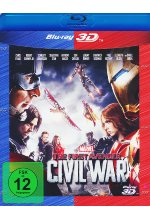 The First Avenger: Civil War Blu-ray 3D-Cover