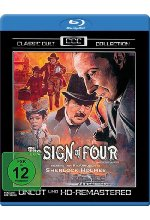 Sherlock Holmes - Das Zeichen der Vier - Classic Cult Collection/Uncut & HD Remastered Blu-ray-Cover