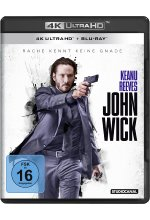 John Wick  (4K Ultra-HD) (+ Blu-ray) Cover