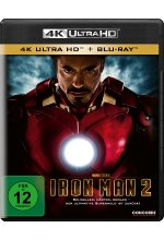 Iron Man 2  (4K Ultra HD) (+ Blu-ray) Cover