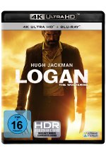Logan - The Wolverine  (4K Ultra-HD) (+ Blu-ray) Cover