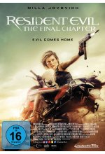 Resident Evil: The Final Chapter DVD-Cover