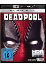 Deadpool  (4K Ultra HD) (+ Blu-ray) Cover