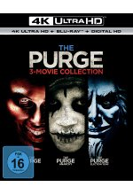 The Purge - Trilogy  (3 4K Ultra HD) (+ 3 Blu-ray 2D) Cover