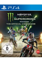 Monster Energy Supercross - The official Videogame Cover