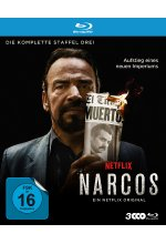 Narcos - Staffel 3  [3 BRs] Blu-ray-Cover