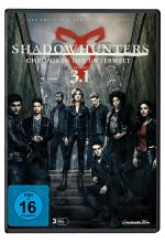Shadowhunters Staffel 3.1  [3 DVDs] DVD-Cover