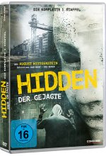 Hidden - Der Gejagte - Die komplette 1. Staffel - Home Edition  [3 DVDs] DVD-Cover