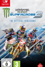 Monster Energy Supercross 3 - The Official Videogame Cover