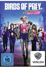 Birds of Prey - The Emancipation of Harley Quinn DVD-Cover
